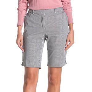🌻3/$18 or 5/$25🌻Tahari Striped Bermuda Shorts